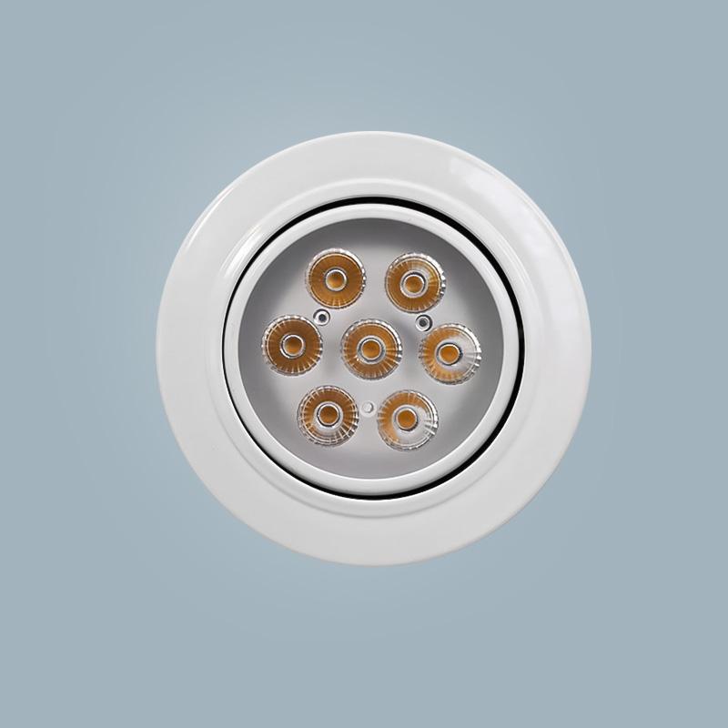 More energy-saving and environmentally-friendly LED spotlight 8w white