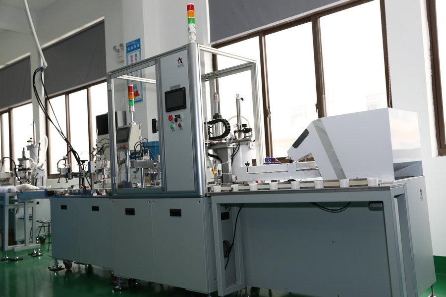 Bulb assembly machine 1