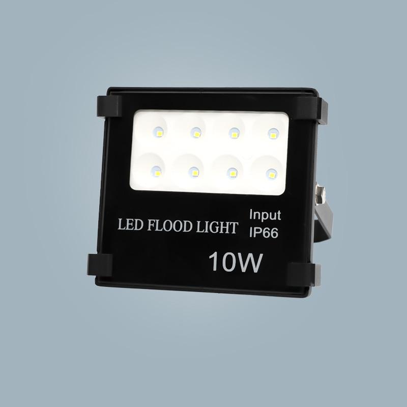 Floodlight 10w black