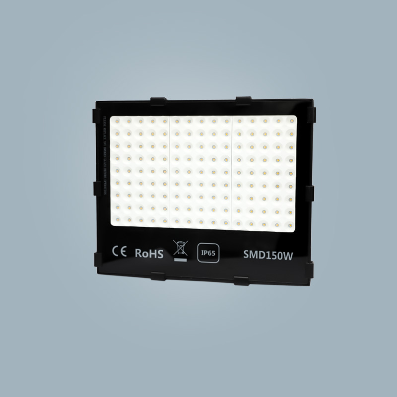 Flood light 150w black