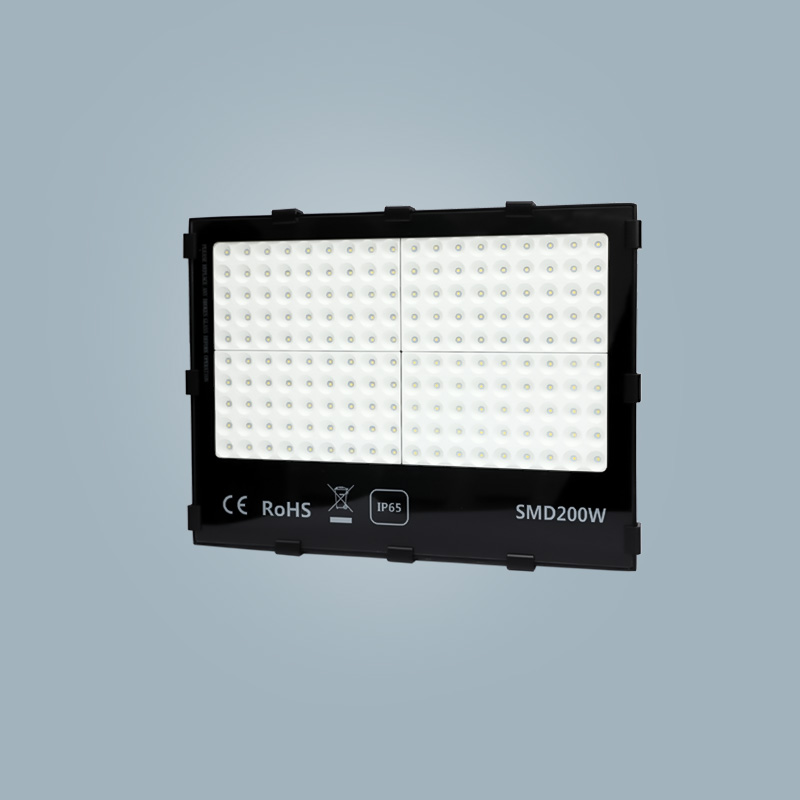 Flood light 200w black