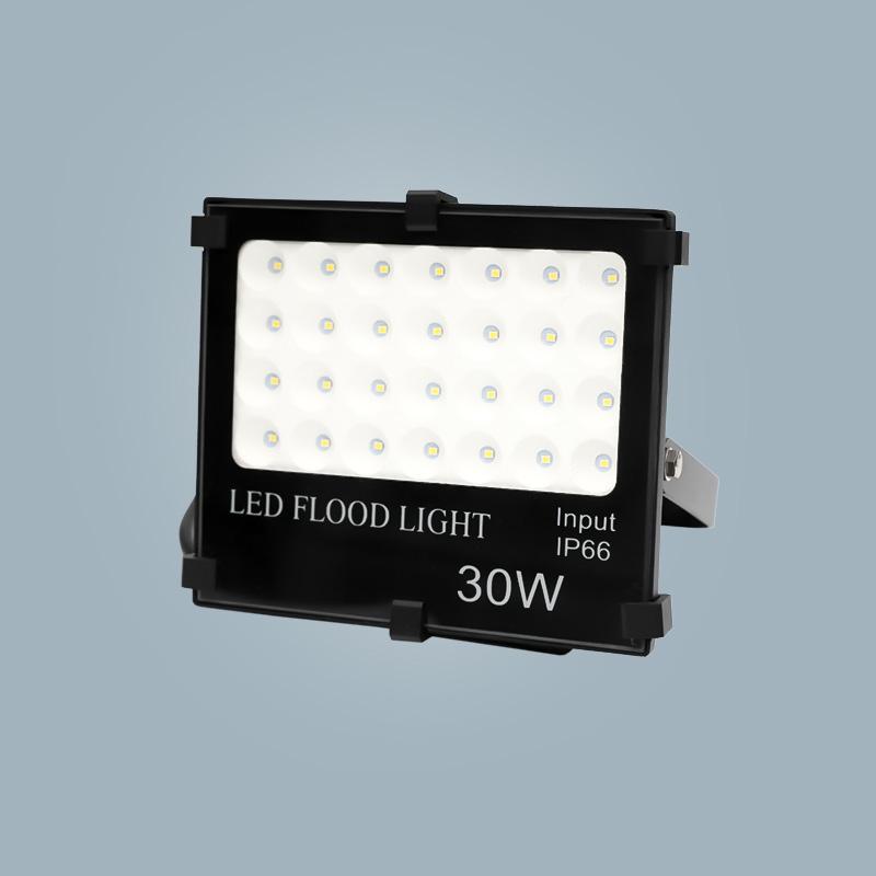 Flood light 30w black