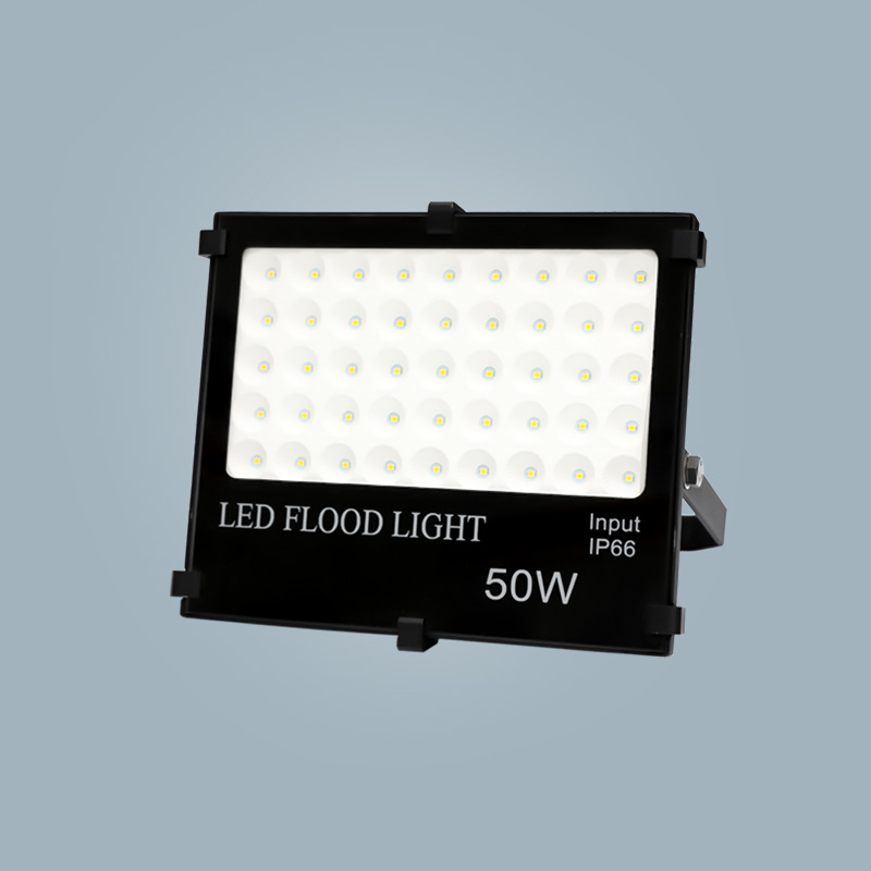 Flood light 50w black