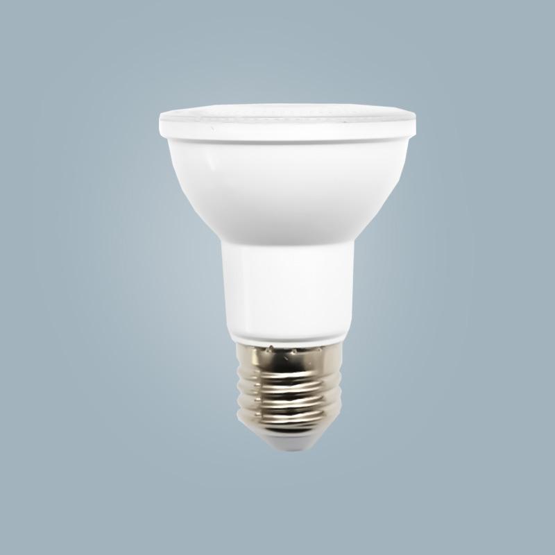Factory direct sales par light 8w plastic shell aluminum