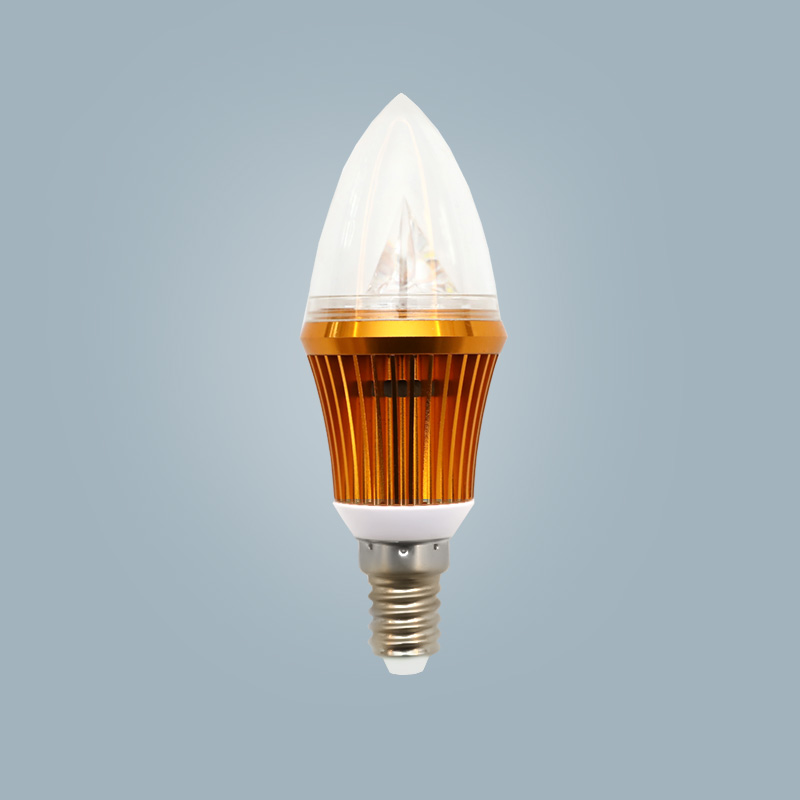 Frosted glass high-quality blue light bulb