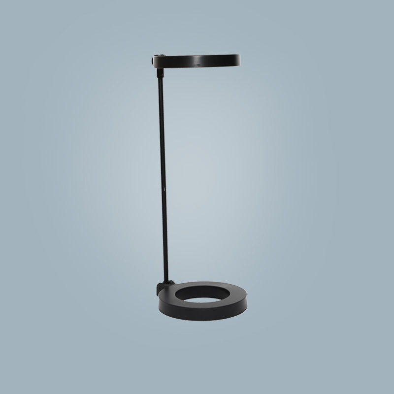 Table lamp (round black)