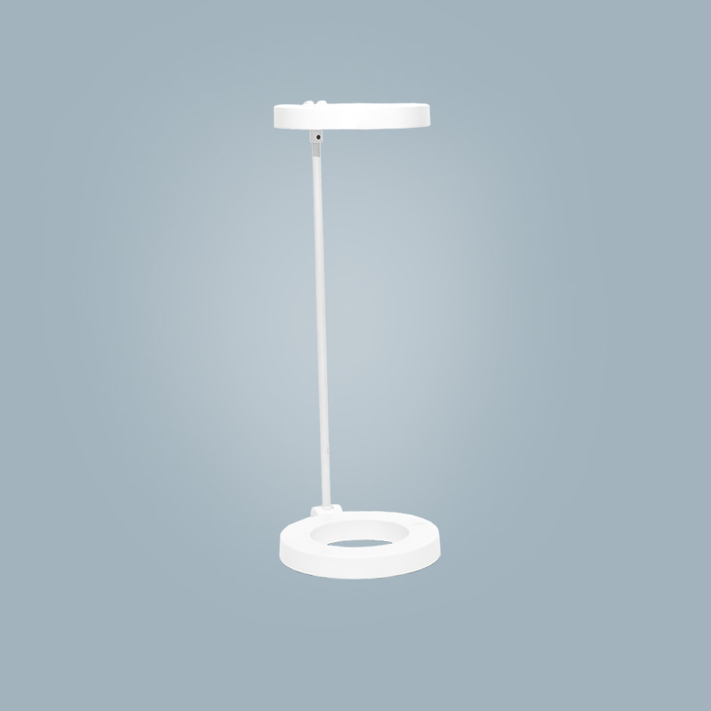 Table lamp (round white)