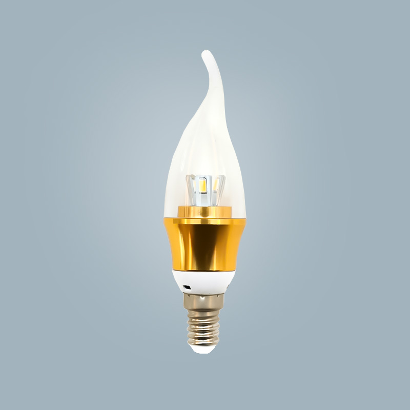 Hot sale high quality energy saving lamp candle