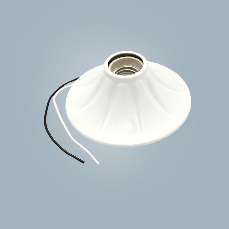 Cheap flame retardant wall mount wall lamp E27 lamp holder