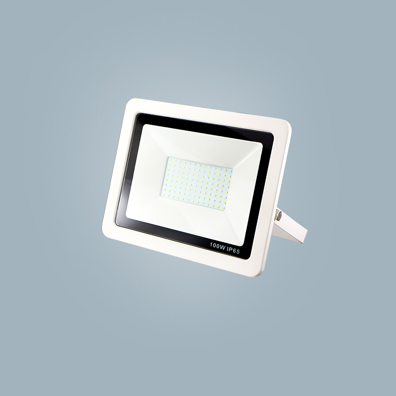 Newly designed high-power ultra-thin outdoor 100wLED flood light