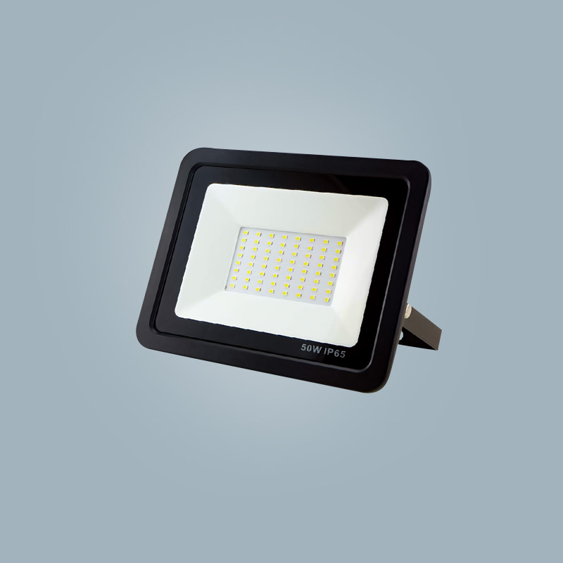 The factory sells high-power 50w LED flood lights super bright