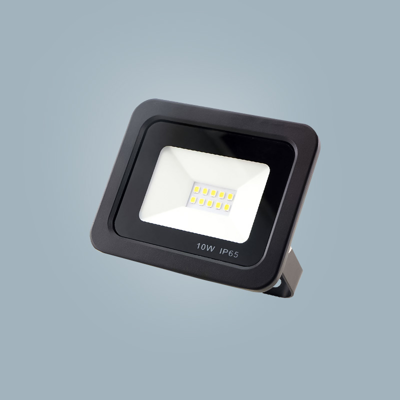 European standard 10w black led floodlight outdoor